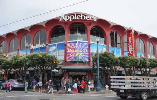 Applebee's Restaurant in Fisherman's Wharf.