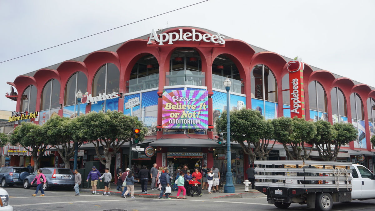 Applebee S Grill Amp Bar Two Days In San Francisco