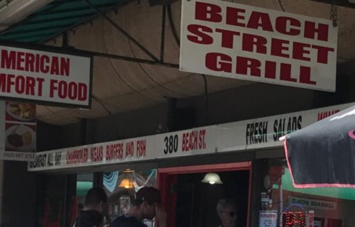 Organic & Gluten free, homemade San Francisco styled food at Beach Street Grill.