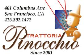 Trattoria Pinocchio - Two Days in San Francisco
