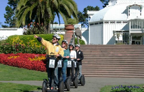 Electric Tour Company Golden Gate Park