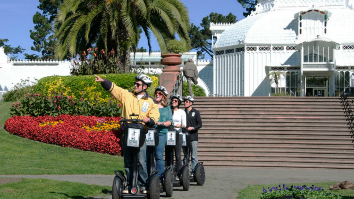 Electric Tour Company Golden Gate Park Two Days In San
