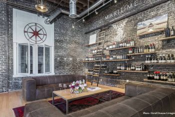 Inside the Maritime Wine Tasting Studio, San Francisco