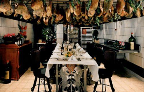 Inside North Beach Restaurant's Prosciutto Room