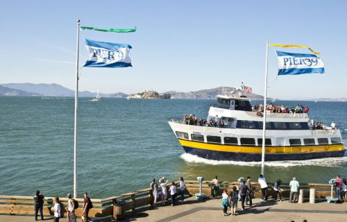 Blue & Gold Fleet at Pier 39, San Francisco