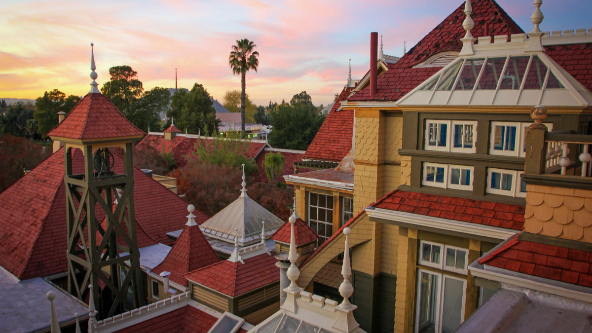 winchester mystery house - two days in san francisco