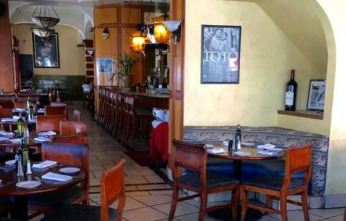 Italian dining at Trattoria Pinocchio in North Beach.