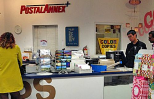 postal-annex interior