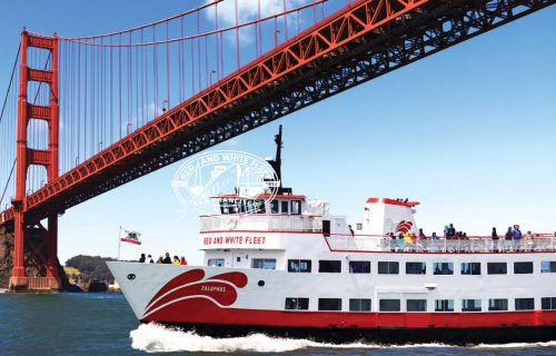 red and white fleet exterior