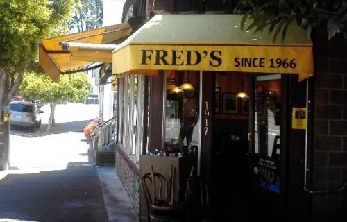 Fred's Place Exterior