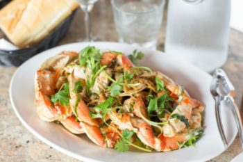 Plate of Seafood from Betty Lous in San Francisco