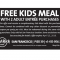 FREE Kids Meal with 2 Adult Entree Purchases at Hard Rock Cafe