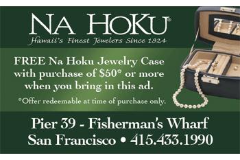 FREE Jewelry Case With Purchase At Na Hoku Hawaiian Jewelry
