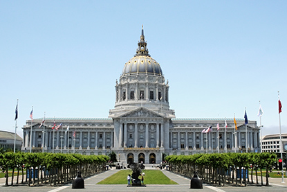 Civic Center Two Days in San Francisco