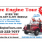 $5.00 OFF Your Reservation with San Francisco Fire Engine Tours