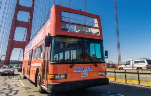 Skyline Sightseeing San Francisco Golden Gate Bridge