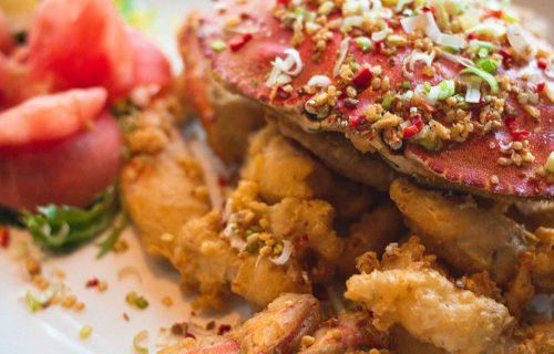 Harborview Restaurant Crab