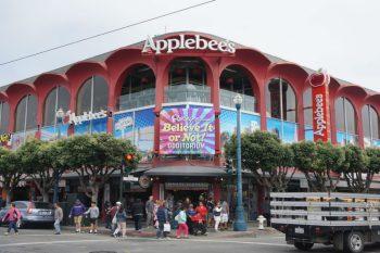 Applebee's Restaurant on the second-floor.