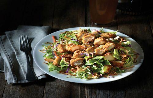 Oriental salad Applebee's in Fisherman's Wharf.