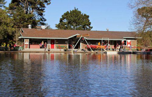 Stow Lake Boathouse Exterior