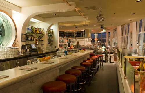 Inside the Franciscan Crab Restaurant, San Francisco