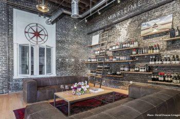 Inside the Maritime Wine Tasting Studio, San Francisco