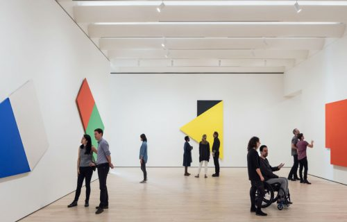 Approaching American Abstraction: The Fisher Collection. Photo Henrik Kam courtesy SFMOMA