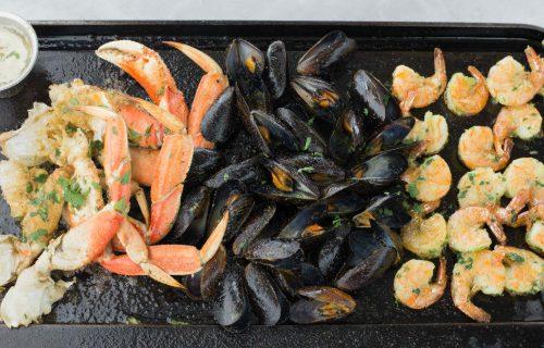 Seafood at Salito's Crab House and Prime Rib, Sausalito