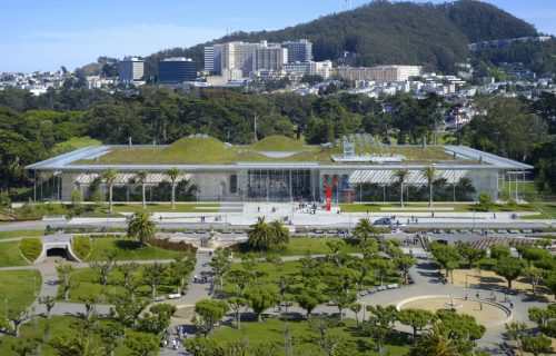 California Academy of Sciences in San Francisco, photo by Tim Griffith